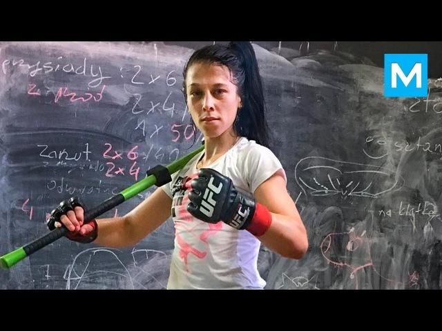 UFC Champion Joanna Jedrzejczyk Muscle Madness