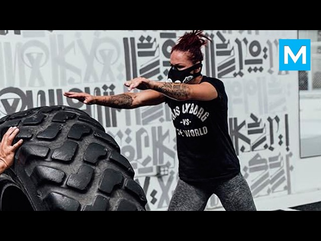 Cris Cyborg Training for UFC   Muscle Madness