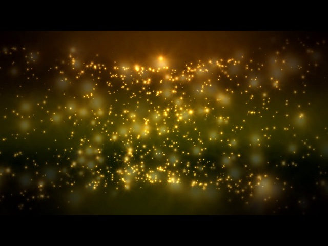 4K 5:00Min. ♥ Shining Bright Stars Bokeh Cycle ♥ 2160p 60fps FREE Motion Background AA VFX
