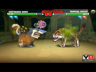 Mutant Fighting Cup 2 (South America Cup 11) Contagious Robot VS Tropical Ocelot (Dog Part 71)