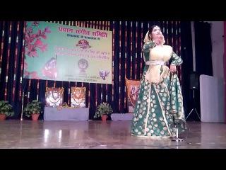 mohini's kathak dance performence in allahabad