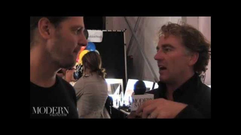 Superstar Rodney Cutler interviews superstar Peter Gray