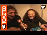 Heaven &amp Hell interview Full interview Ronnie James Dio and Geezer Butler Toazted