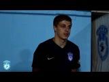 Алексей Курзенев после победы в кубковом матче