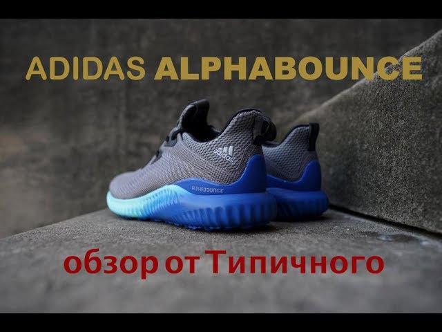 Adidas, не болей! Обзор беговых кроссовок Adidas ALPHABOUNCE.