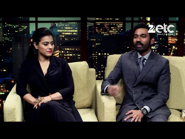 Kajol And Dhanush In Conversation With Komal Nahta