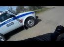 Погоня от ДПС на мотоцикле Suzuki Bandit\Police vs Moto