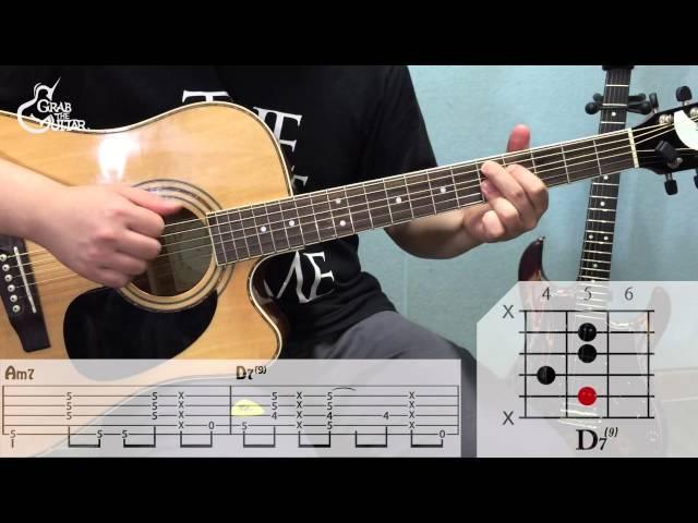 [그랩더기타] 위잉위잉(Wi ing Wi ing) - 혁오(Hyukoh) [Guitar Tutorial/Lesson/통기타 강좌]