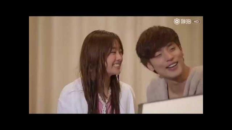 EngSub [MakingFilm] kiss scenes sunghoon songjieun