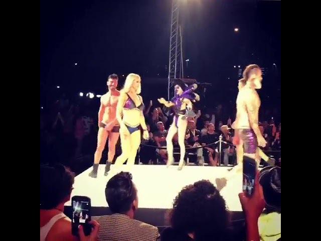Adam Lambert at the MarcoMarcoshow, October 15