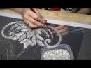 Люневильская вышивка Отчёт для невесты Июнь 2017