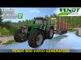 Farming Simulator 17 FENDT 900 VARIO GENERATION TRACTOR