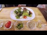 Салат з руколою до посту