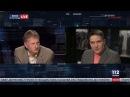 Надежда Савченко и Тарас Чорновил в Вечернем прайме телеканала 112 Украина, 01.11....