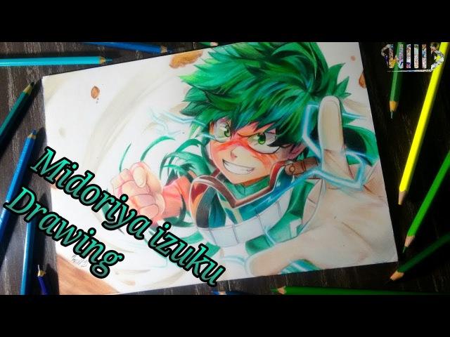 Drawing - Midoriya Izuku (Boku no hero academia)