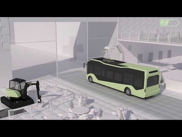 Автобусы Volvo Smart Cities - Infrastructure and Transport of the Future