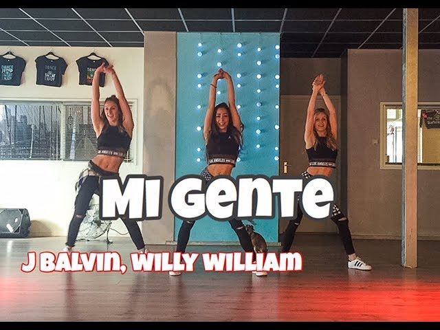 Mi Gente - J Balvin Willy William - Easy Fitness Dance Video - Choreography
