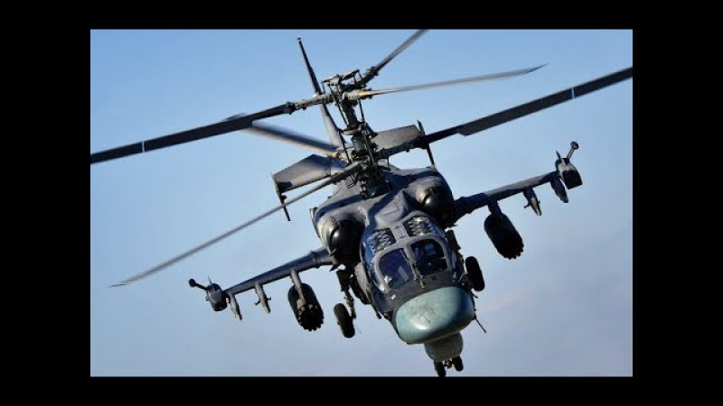 The Angel Of Death!The Best Attack Chopper in the World-Russian KA-52!