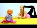 Видео для девочек урок гимнастики для Штеффи. Мультик Барби и видео про кукол