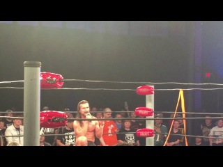 Adam Cole farewell speech Ring Of Honor 5/14/17 (Young Bucks, Bullet Club) ROH