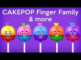 Cup Cakes Family Family Songs - The Finger Family Cup Cakes Family Nursery Rhyme