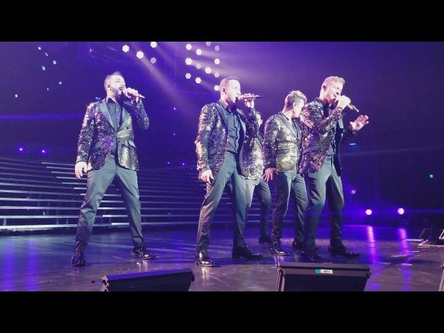 Backstreet Boys 4k: Undone, Larger Than Life show, Las Vegas Nov 08, 2017