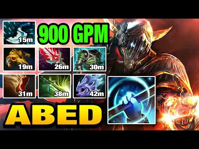 Abed [Sven] Farming too fast with Magnus's Empower Dota 2
