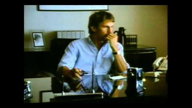 1983 Apple Macintosh Lisa Computer Commercial with Kevin Costner