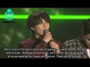SHINee 2013 MelOn Music Awards: Artist Of The Year Speech (Eng Sub)