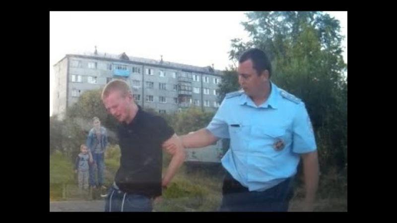 Погоня за пьяной буханкой в Тюмени и задержание газом