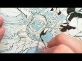 Joe Mad inks #3 real time