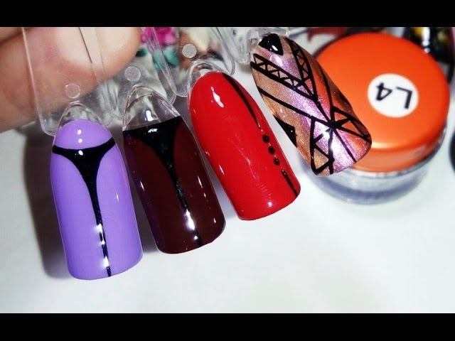 Дизайн ногтей✦Геометрия 2 часть✦Ksana Groza. Nail Art Blog