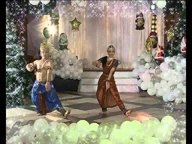 Semiclassical dance of India-Sur sangam duo (Ukraine)