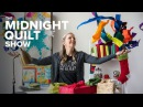 Stashing Through the Snow (S3 Premiere GIVEAWAY Holiday Prep) | Midnight Quilt Show Carpenter Star