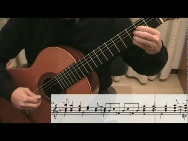 DESAFINADO Slightly Out Of Tune with score Antonio Carlos Jobim guitar solo violão chitarra