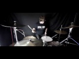 Closure in Moscow - Kissing Cousins (1080p Drum Cover)