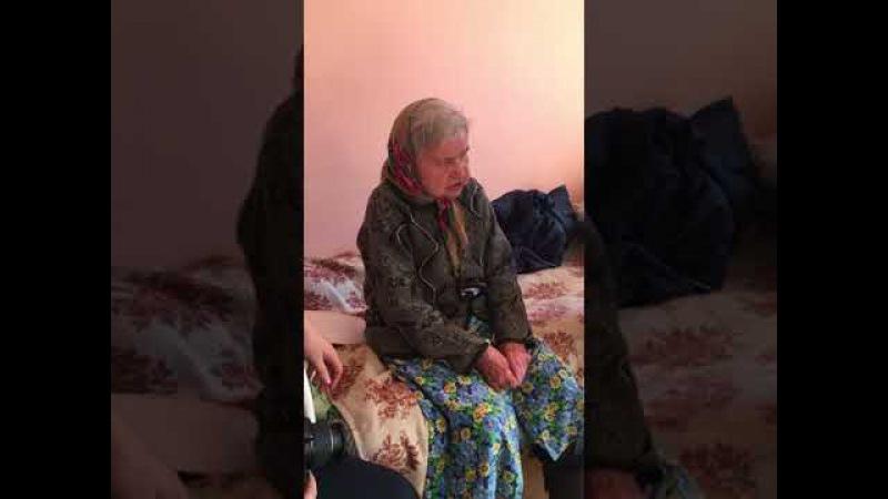 Катерина Ивановна Авдеева читает свои стихи