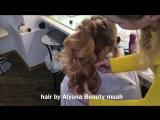 Прическа высокий объемный хвост ( на основе из объемных локонов ) прическа -Алена Кривко / hair by Alyona Beauty
