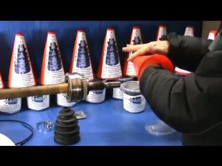 Видео замена пыльника шруса без снятия шруса