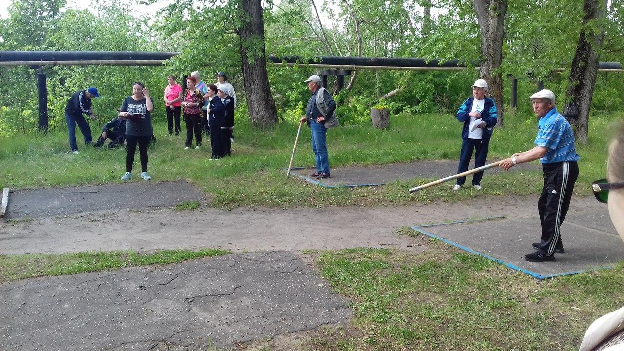 В спортивном мероприятии «Городки» ГО ВОИ г. Кулебаки приняли участие и представители МО ВОС