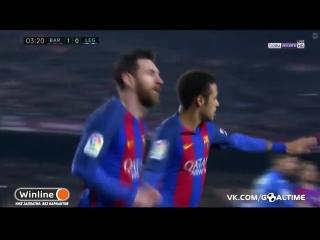 Барселона - Леганес 1:0. Лионель Месси