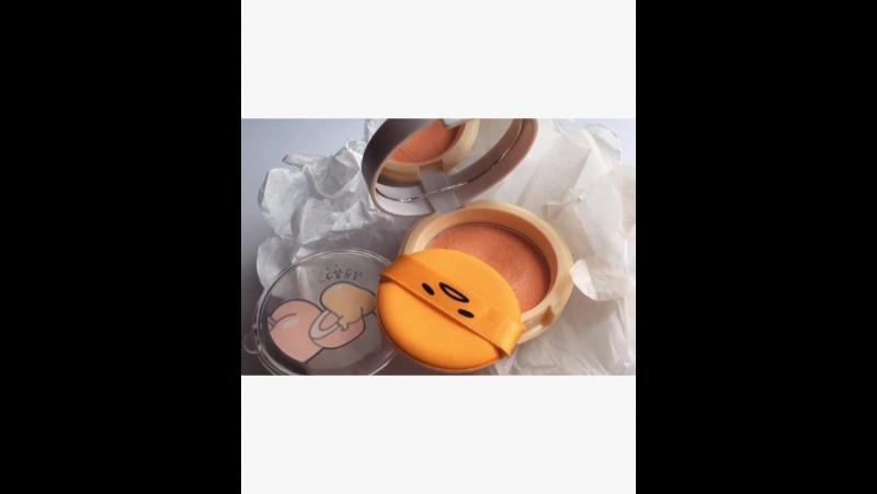 Holika Holika Gudetama Jelly Dough Blusher OR01