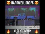 J Balvin &amp Willy William - Mi Gente (Hardwell &amp Quintino Remix)