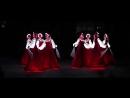 Русский народный танец девушек в светящихся платьях! Невероятно красиво