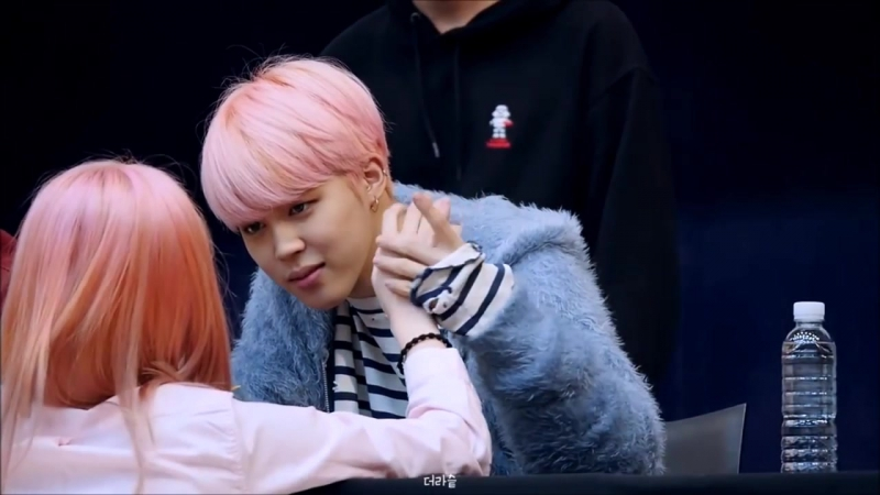 ♥♫Imagine JIMIN IS HOLDING YOUR HAND♬ 智旻牽著你手