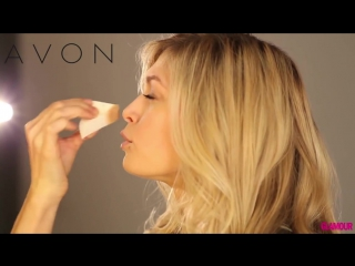 Вечерний макияж Веры Брежневой пошагово. Avon Luxe kosmetika