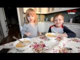 Разыграли Детей  Пауки, мухи и сколопендры в тарелках  Даша рыдает
