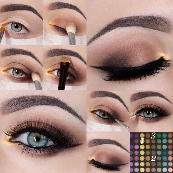 Видео уроки макияжа для лица и глаз  наносите правильно
