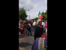 Митинг в честь революции!! Лиссабон Live