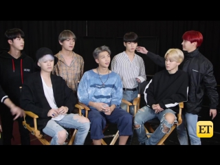 [INTERVIEW] 171116 BTS on Dating and What True Love Means to Them @ Entertainment Tonight, США